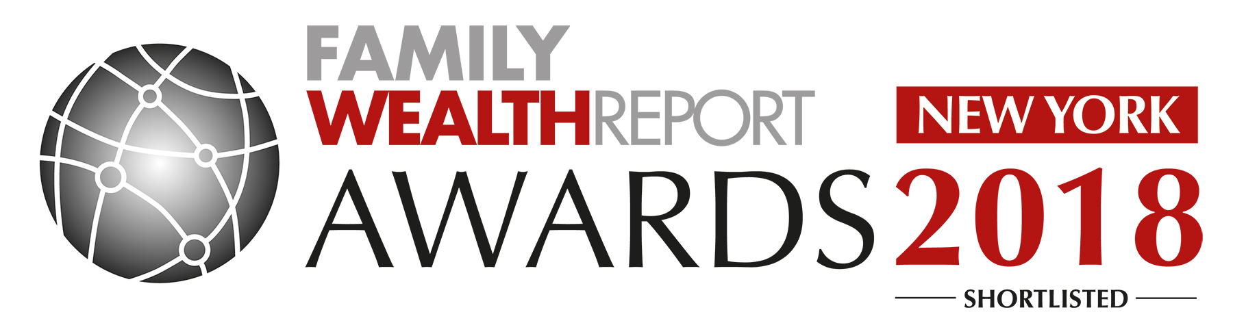 New York 2018 Family Wealth Report Awards Logo